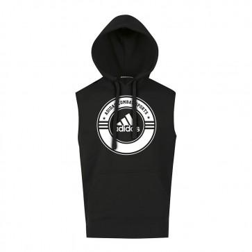 adidas Sleeveless Hoody Combat Sports black/white