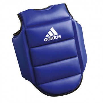 adidas Reversible Boxing Chest Guard blue/red