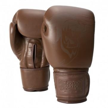 Super Pro Combat Gear Legend SE Leder Boxhandschuhe brown