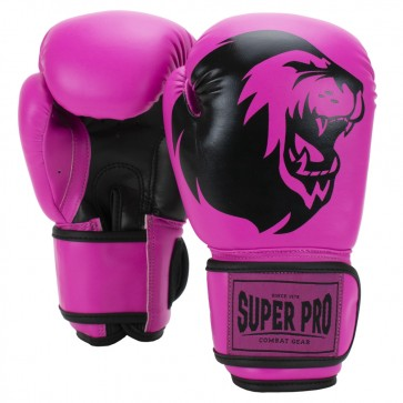 Super Pro Combat Gear Talent Kinder Boxhandschuhe pink/black