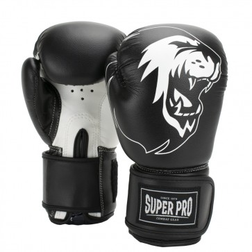Super Pro Combat Gear Talent Kinder Boxhandschuhe black/white