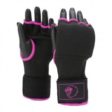 Super Pro Combat Gear Innenhandschuhe mit Bandage black/pink