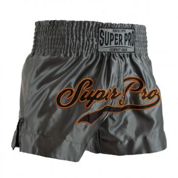 Super Pro Combat Gear Thai Short Challenger grey/orange/black