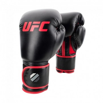 UFC Contender Muay Thai Style Training Gloves black/red (UHK-69744)