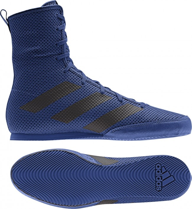 adidas BOX HOG 3 blueblack