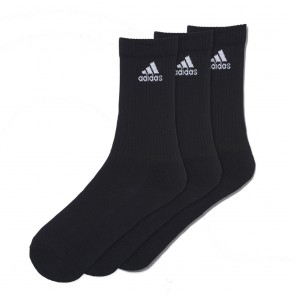 T19 Socken CUSH Crew 3-Paar Black