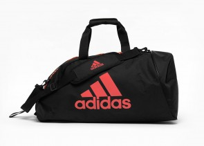 adidas 2in1 Bag Polyester COMBAT SPORTS blk/red M