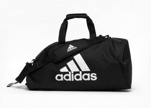 adidas 2in1 Bag Polyester COMBAT SPORTS blk/white M