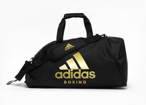 adidas 2in1 Bag Polyester COMBAT SPORTS blk/gold M