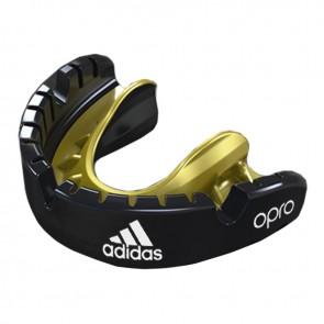 adidas Mundschutz OPRO Gen4 Gold-Edition Braces Schwarz  Senior