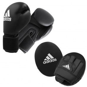 adidas Adult Boxing Kit 2 black/white Onesize