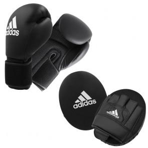 adidas Adult Boxing Kit 2 black/white Onesize
