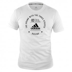 Community T-Shirt Boxing White/Black