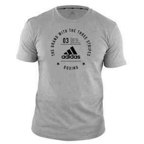 Community T-Shirt Boxing Grey/Black