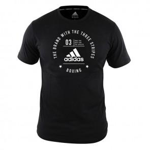 Community T-Shirt Boxing Black/White