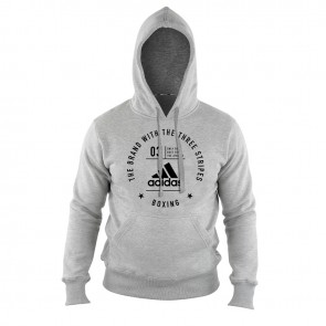 Community Hoody Boxing Grey/Black