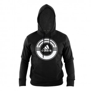 Hoody Combat Sports black/white