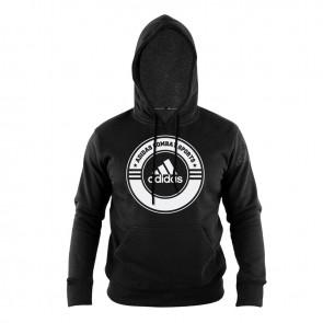 Hoody Combat Sports black/white