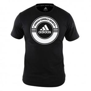 T-Shirt Combat Sports black/white