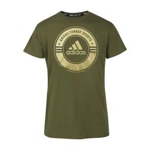 adidas T-Shirt Combat Sports green/gold