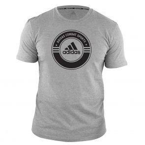 adidas T-Shirt Combat Sports grey/black