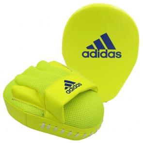 adidas Speed Coach Mitts yellow/blue onesize