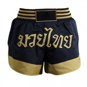 adidas Thai Boxing Short Micro Diamond Black/Gold