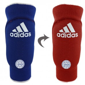 Elbow Guard Padded Reversible - red/blue / XS