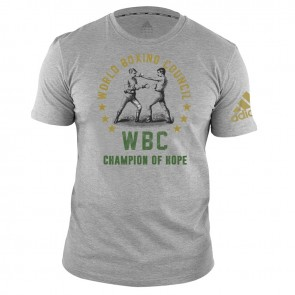 WBC T-Shirt Champ of Hope - grey