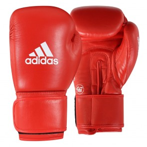 adidas AIBA Boxing Gloves Rot