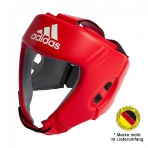 adidas AIBA Boxing Headguard Rot