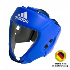 adidas AIBA Boxing Headguard Blau
