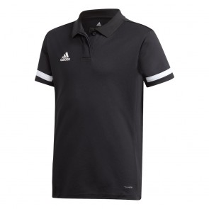 adidas T19 POLO Youth Girls BLACK/WHITE