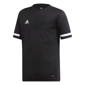 adidas T19 SS JSY Youth Boys BLACK/WHITE