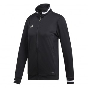 adidas T19 TRK JACKET W BLACK/WHITE