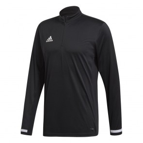adidas T19 1/4ONG SLEEVE M BLACK/WHITE