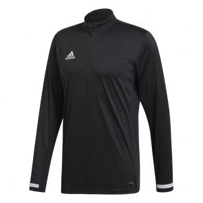 adidas T19 1/4ONG SLEEVE M BLACK/WHITE