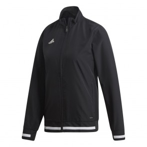 adidas T19 WOV Jacket W BLACK/WHITE