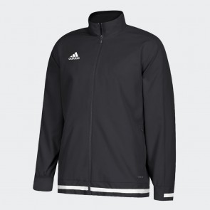 adidas T19 WOV Jacket M BLACK/WHITE