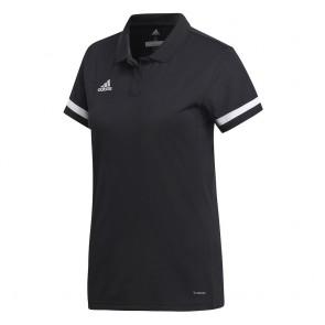 adidas T19 POLO W BLACK/WHITE