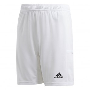 adidas T19 KN SHORTS Y WHITE