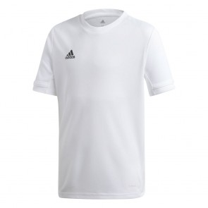 adidas T19 SS JERSEY YOUTH WHITE