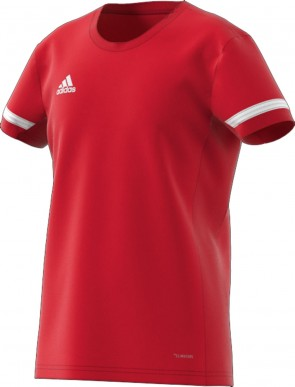 adidas T19 SS JSY YG POWER RED/WHITE