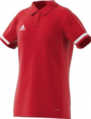 adidas T19 POLO YG POWER RED/WHITE