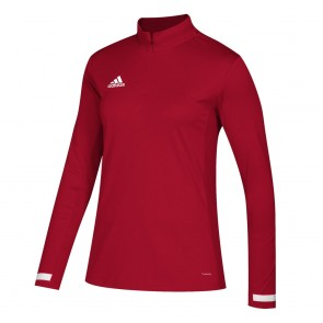 adidas T19 1/4S W POWER RED/WHITE