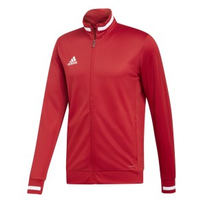 adidas T19 TRK JKT M POWER RED/WHITE