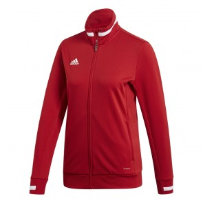adidas T19 TRK JKT W POWER RED/WHITE