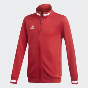 adidas T19 TRK JKT Y POWER RED/WHITE