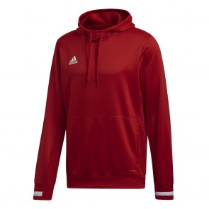 adidas T19 HOODY M POWER RED/WHITE