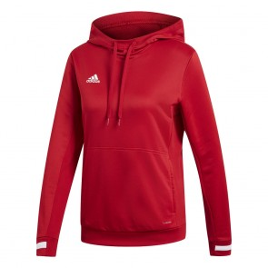 adidas T19 HOODY W POWER RED/WHITE
